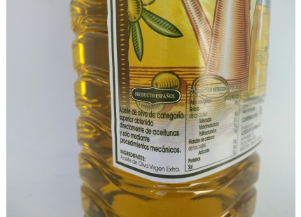 1 l natives Olivenöl ✔