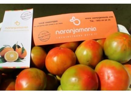 Mixed Box 10kg Orangen Tisch (8kg) + Valenzianische Tomate (2kg)