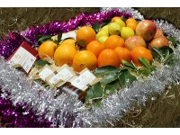 Weihnachtskorb Naranjamania 15kg.